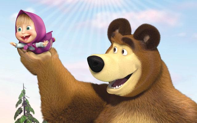 Rai yoyo masha e orso
